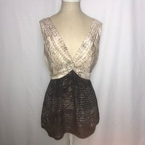 BCBGMaxAzria | NWOT Silk Blouse (Size: M)